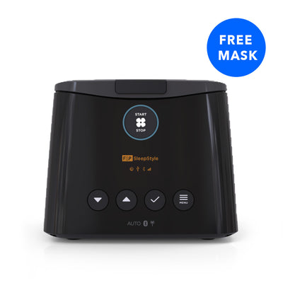 Fisher and Paykel SleepStyle Automatic CPAP Machine ***FREE MASK + 5 Year Warranty*** by Fisher & Paykel from Easy CPAP