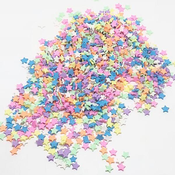 50 grams DIY Polymer Clay Fake Candy Sweets Creamy Sugar Sprinkles FREE  SHIPPING