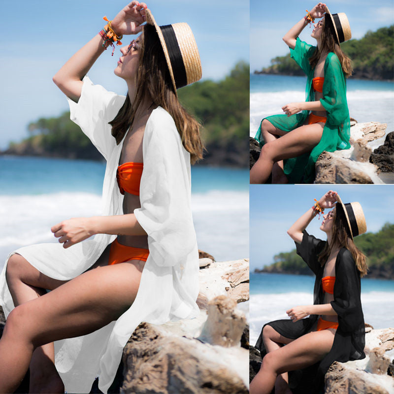 Sexy Tunic Crochet Beach Cover Up Cover Ups OneShopee - OneShopee #1 Best Selling Luxury Cheap Sexy Swimwear Online Store