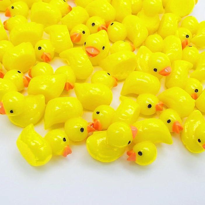 50 Pieces 11*14mm kawaii Yellow duck Resin Cabochon (FREE SHIPPING) Slime Supplies OneShopee - OneShopee #1 Best Selling Luxury Cheap Sexy Swimwear Online Store