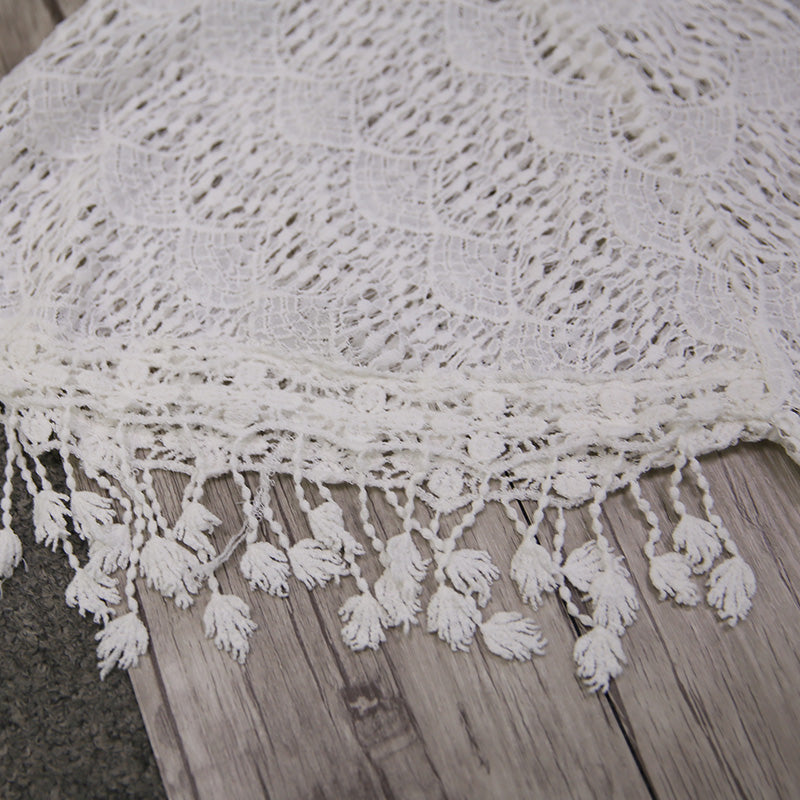 a8dd3fca6bc8d ... Sexy Beach Cover Up White Crochet Tassel Cover Ups Epiya - OneShopee #1  Best Selling