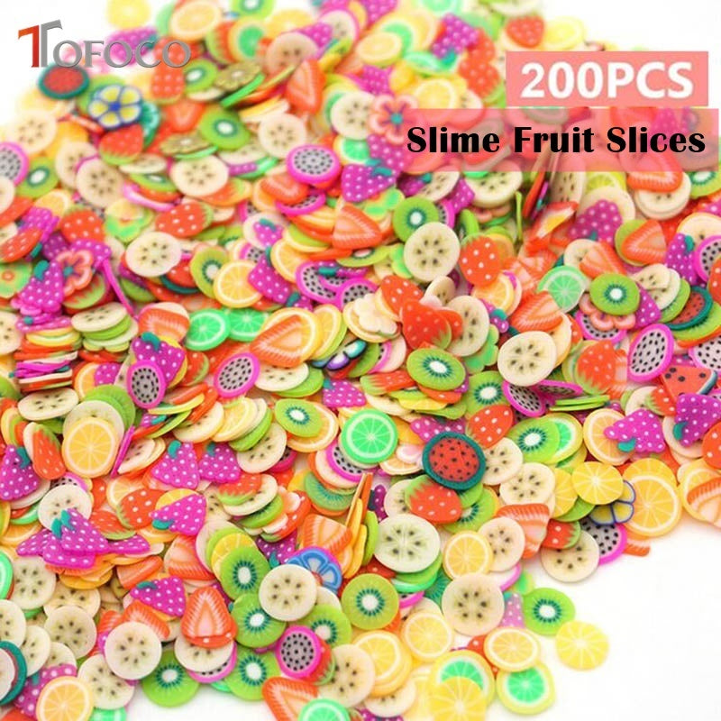 200 Pieces/Pack DIY Slime Fruit/Flower/Pastry/Animal Slices (FREE SHIPPING) Slime Supplies OneShopee - OneShopee #1 Best Selling Luxury Cheap Sexy Swimwear Online Store