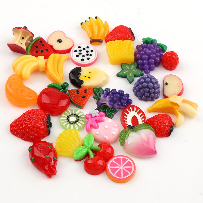 30 Pieces Mix Designs Colorful Fruit Series DIY Resin (FREE SHIPPING) Slime Supplies OneShopee - OneShopee #1 Best Selling Luxury Cheap Sexy Swimwear Online Store