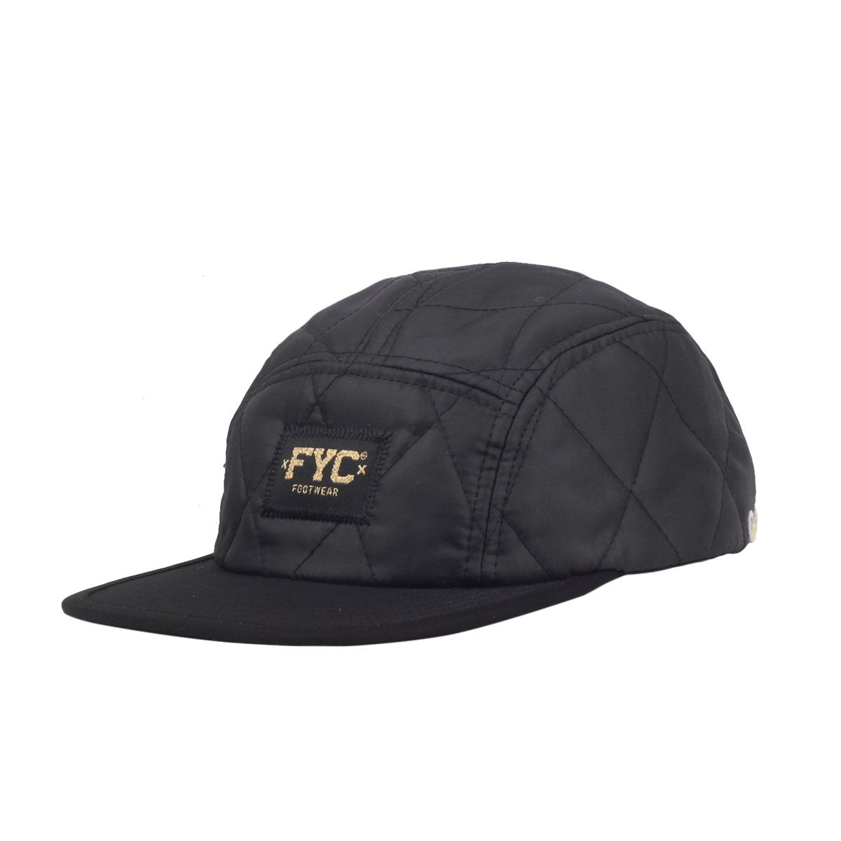 5 Panel Cap Plush Black