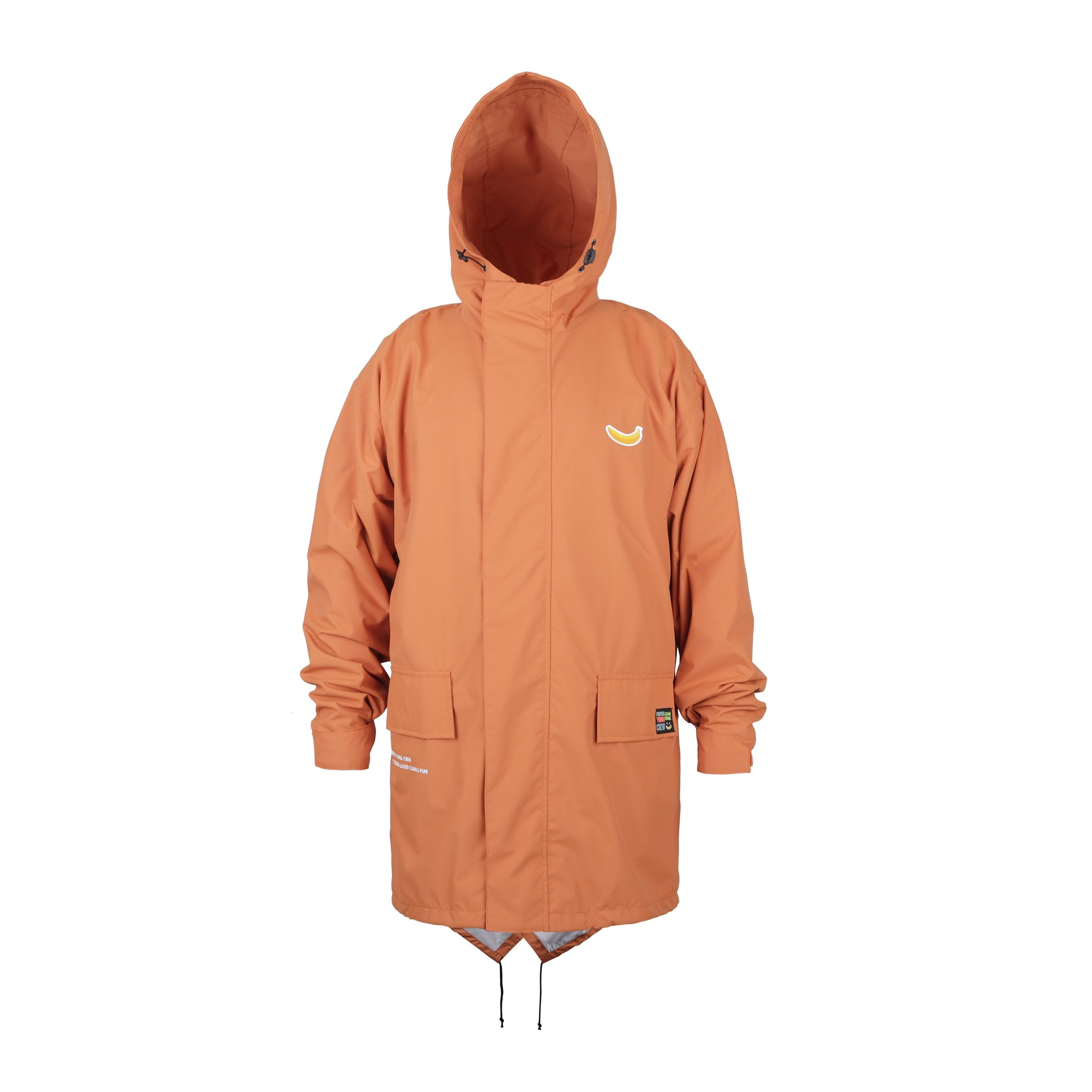Parka Fishtail Banana Orange