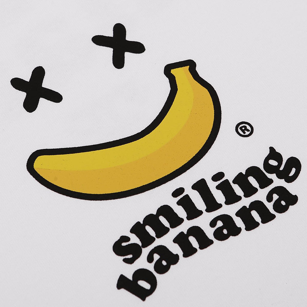 Smiling Banana White