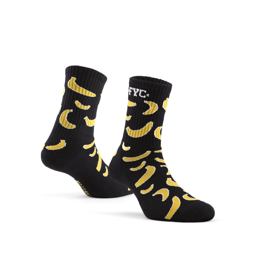 Sock Banana Black