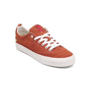 Manzamo Red Brick Suede