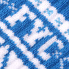 Sock Pattern Blue