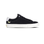 Slim Caven Black Suede