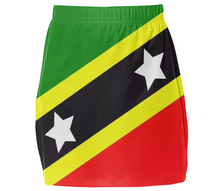 Flag of Saint Kitts and Nevis MINI TUBE SKIRT - ARTPICS