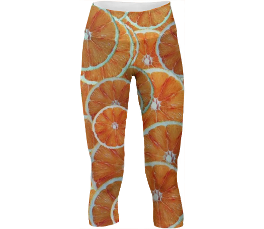 Orange slice fruit pattern - ARTPICS
