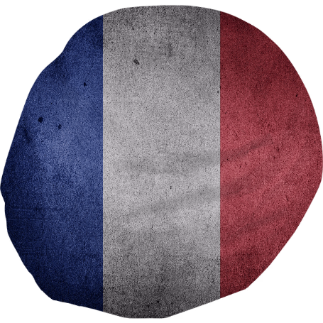 Vintage Grunge France flag - ARTPICS