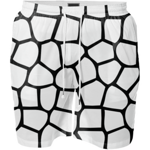 Black and White Mosaic pattern - ARTPICS