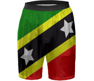 Flag of Saint Kitts and Nevis BOXER SHORTS - ARTPICS