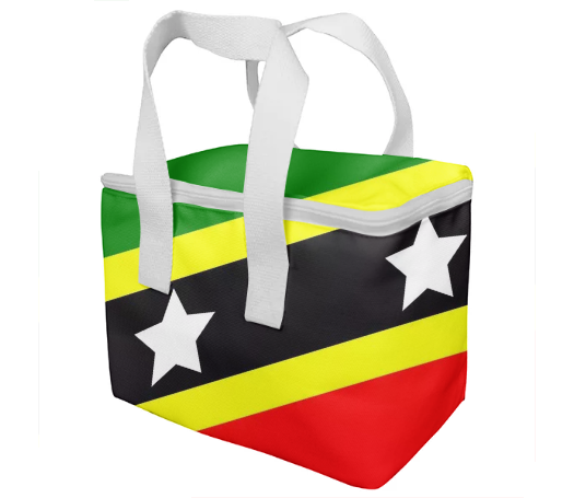 Flag of Saint Kitts and Nevis KIDS LUNCH BOX - ARTPICS