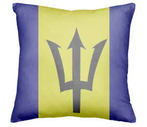Flag of Barbados PILLOW - ARTPICS