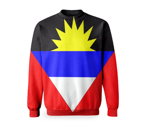 Flag of Antigua and Barbuda BASIC SWEATSHIRT - ARTPICS