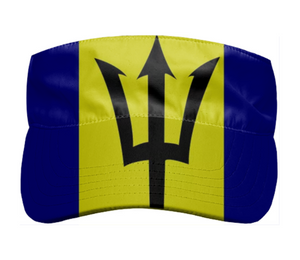 Flag of Barbados VISOR - ARTPICS