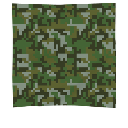 Green Woodland Pixel Army Camo pattern - ARTPICS