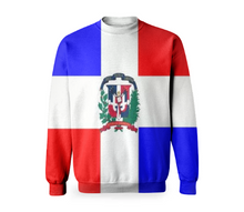 Flag of Dominican Republic BASIC SWEATSHIRT - ARTPICS