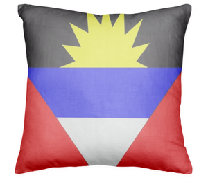 Flag of Antigua and Barbuda PILLOW - ARTPICS