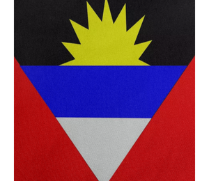 Flag of Antigua and Barbuda TISSUE WEIGHT NYLON - ARTPICS
