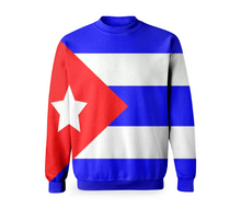 Flag of Cuba BASIC SWEATSHIRT - ARTPICS