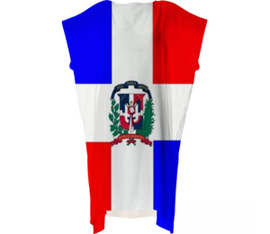 Flag of Dominican Republic VP SQUARE DRESS - ARTPICS
