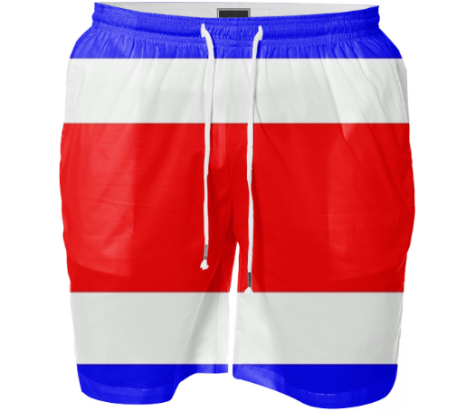Flag of Costa Rica SWIM SHORT - ARTPICS