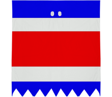 Flag of Costa Rica GHOST COSTUME - ARTPICS