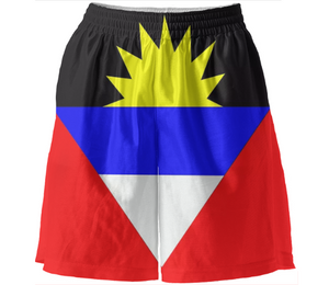 Flag of Antigua and Barbuda BASKETBALL SHORTS - ARTPICS