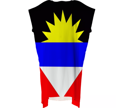 Flag of Antigua and Barbuda VP SQUARE DRESS - ARTPICS