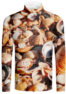 Beautiful Summer Seashells pattern - ARTPICS