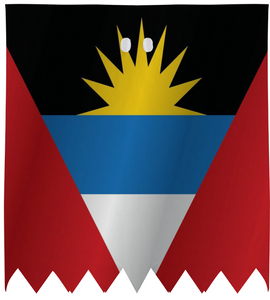 Antigua and Barbuda flag - ARTPICS