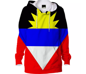 Flag of Antigua and Barbuda HOODIE - ARTPICS