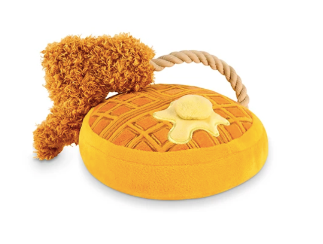 Chicken And Waffles Plush Toy