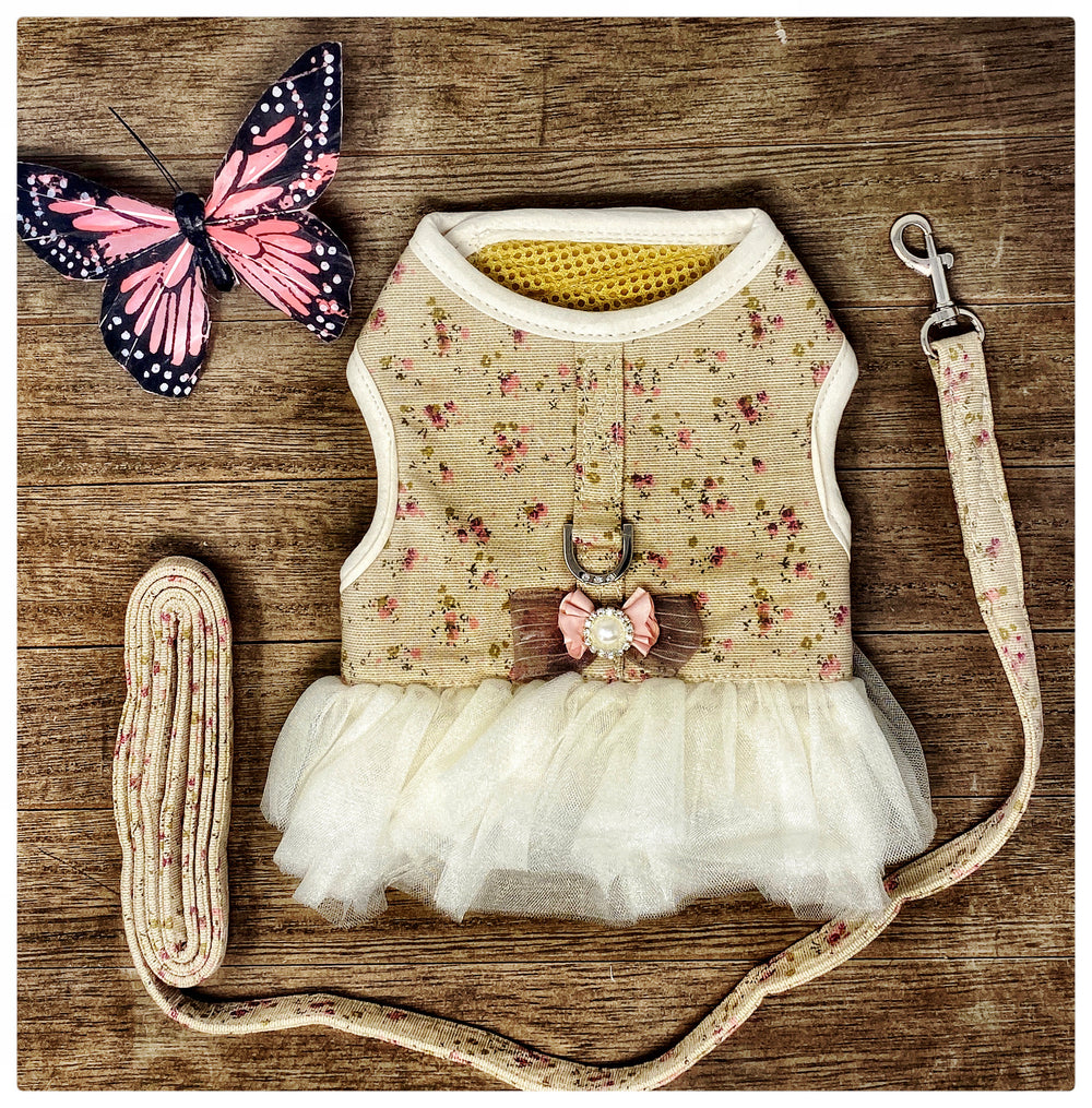 Tutu Harness & Leash Set