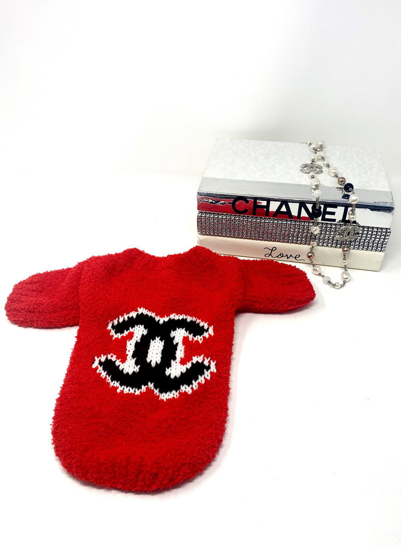 Chewnel Logo Knit Sweater
