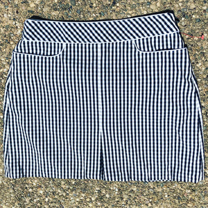 ONCE LOVED GINGHAM SKIRT