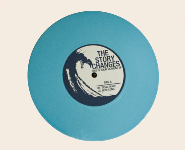 "The Story Changes - This Is Your Moment EP 7"" - Vinyl Soundtrack I Am Shark"