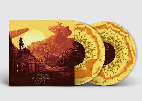 Star Wars: The Force Awakens -Original Motion Picture Soundtrack (Collector's Edition) REY - Vinyl Soundtrack I Am Shark