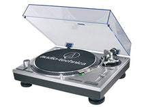 Audio-Technica AT-LP120-USB Turntable with Presonus Eris E3.5 2-Way Studio Monitors & Knox Cleaning Kit