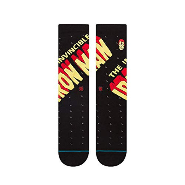 Marvel Men's Invincible Iron Man Socks - Vinyl Soundtrack I Am Shark