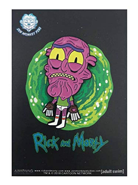 Rick & Morty Lil' Scary Terry In Undies - Enamel Pin - Vinyl Soundtrack I Am Shark