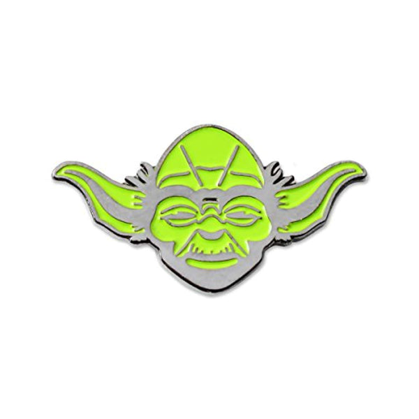 Yoda Jedi master Star Wars Lapel Pin - Vinyl Soundtrack I Am Shark