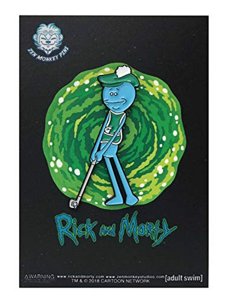 Rick & Morty Golfing Mr. Meeseeks - Enamel Pin