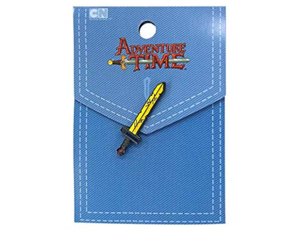 Adventure Time Finn Sword - Enamel Pin