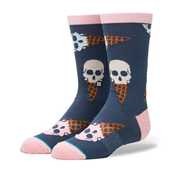 Ice Cream Cone Head Socks - Vinyl Soundtrack I Am Shark