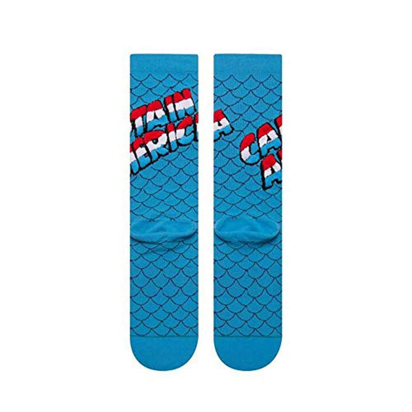 Marvel Men's Captain America Socks - Vinyl Soundtrack I Am Shark